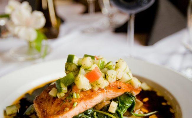 Restaurang med mat som är bra för kroppen