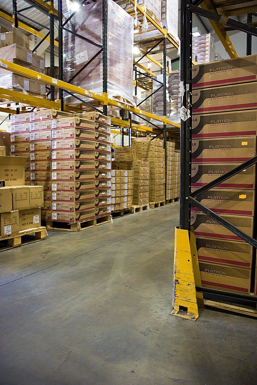 Pallställ för effektivare lagring